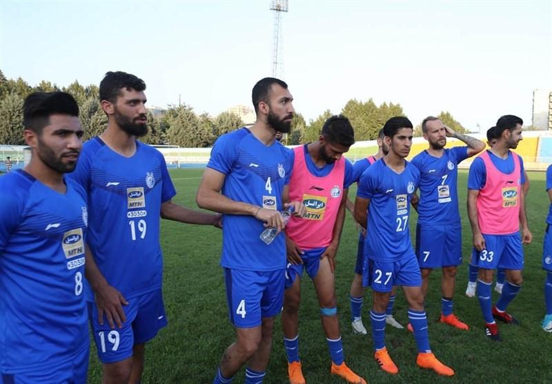 گزارش تمرین استقلال  اولین تمرین طارق و حضور عنایتی در جمع آبیپوشان + عکس