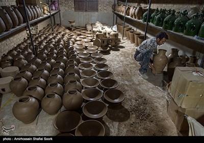 کارگاه سفالگری -یزد