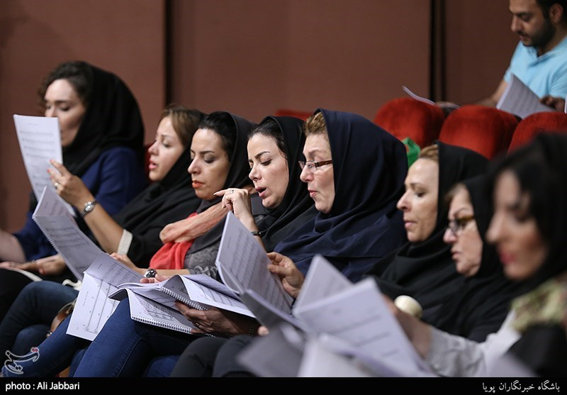 تمرین ارکستر سمفونیک تهران