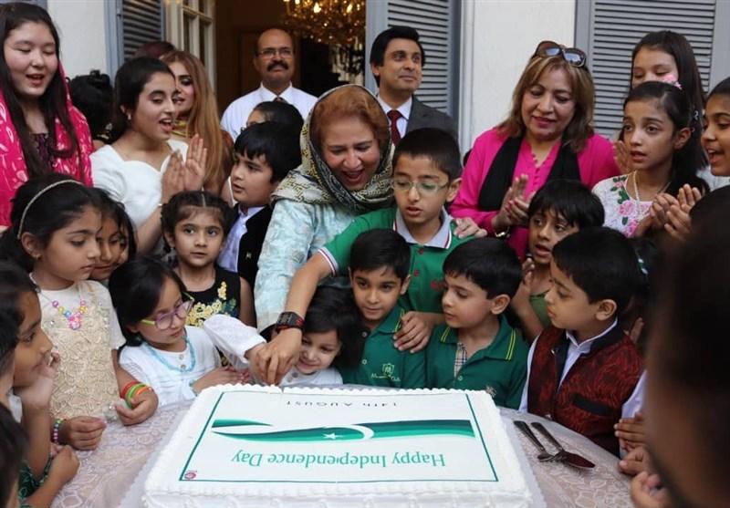 سفارت پاکستان تھران میں پاکستان کی 71 آزادی کا دن منایا گیا