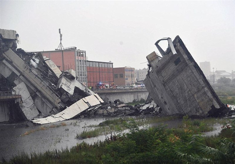 'Dozens Dead' in Italy after Huge Section of Genoa Motorway Bridge Collapses