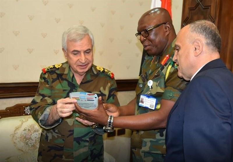 وزیر الدفاع السوری یستقبل وفداً من قیادة قوات الأمم المتحدة