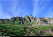 اردبیل| طبیعت بکر ژئوپارک دومولی در قاب تصویر