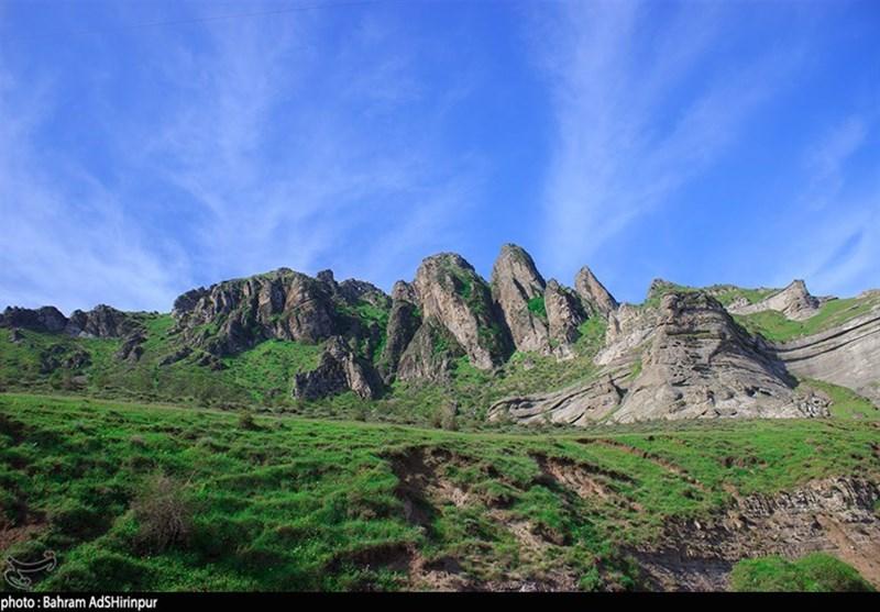 اردبیل  طبیعت بکر ژئوپارک دومولی در قاب تصویر