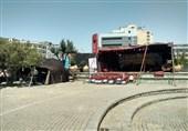تیغ تیز شهرداری تهران روی گردن تئاتر شهر