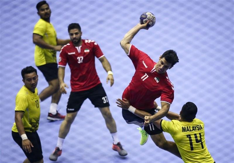 همگروهی هندبال ایران با بحرین و کره جنوبی در مسابقات انتخابی المپیک 2020 توکیو