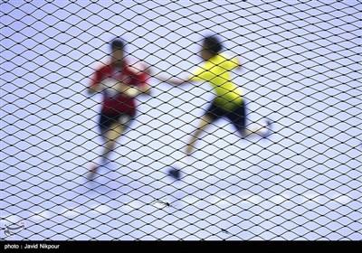 مسابقه هندبال ایران و مالزی