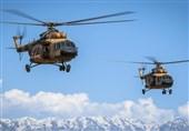 سقوط 3 بالگرد ارتش افغانستان در یک روز