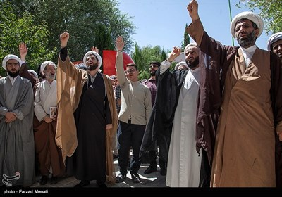 تجمع طلاب کرمانشاهی