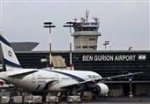 فرود یک فروند هواپیمای اماراتی در فرودگاه تلآویو