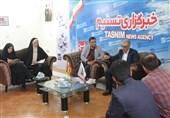 """میزگرد خبری """"عید قربان و ذبح بهداشتی"""" در دفتر تسنیم سمنان برگزار شد"""