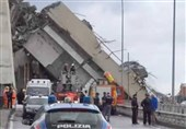جسر جنوى المنهار