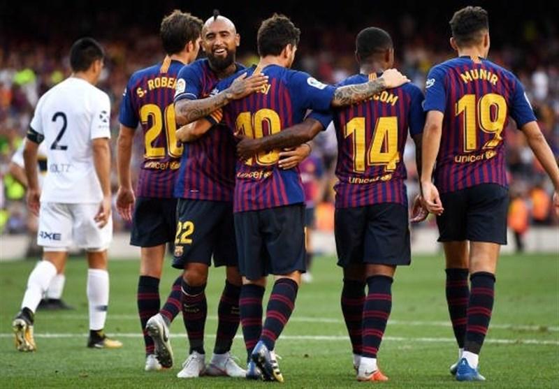 بارسلونا فاتح جام گامپر شد