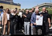 پیکر مرحوم «محمد عبادی» تشییع شد