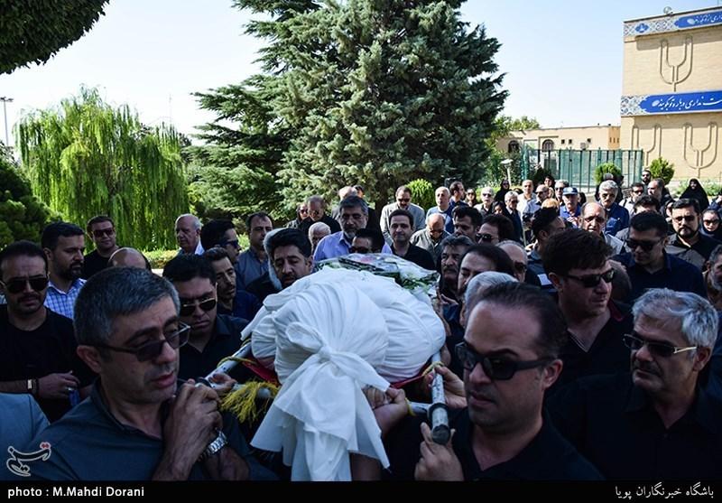 پیکر مرحوم محمد عبادی تشییع شد