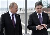دیدار پوتین و بردیمحمداف حول محور انرژی