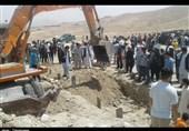 مردم در مراسم تدفین شهدای کابل: پس از این خودمان امنیت را برقرار خواهیم کرد + عکس