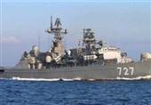 للمرة الأولى.. سفینة حربیة روسیة ترسو فی قاعدة سودانیة