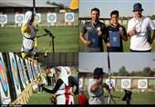 مسابقات تیراندازی با کمان رنکینگ کشوری در ارومیه به روایت تصویر