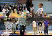 نخستین جشنواره بازیهای پدر، مادر و کودک در ارومیه به روایت تصویر