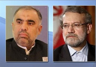 Iran-Pakistan Ties Serve Regional Stability: Speaker Larijani