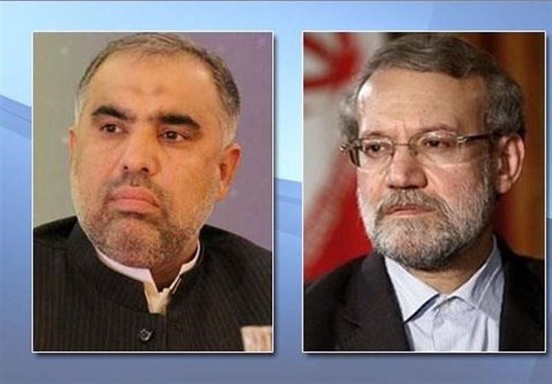 لاریجانی: همکاری مستمر ایران و پاکستان به برقراری آرامش در منطقه کمک میکند