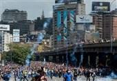 فنزویلا تقمع تظاهرة احتجاج على انقطاع الکهرباء (صور)