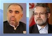 لاریجانی: التعاون الإیرانی الباکستانی المستدیم یساعد على الهدوء فی المنطقة