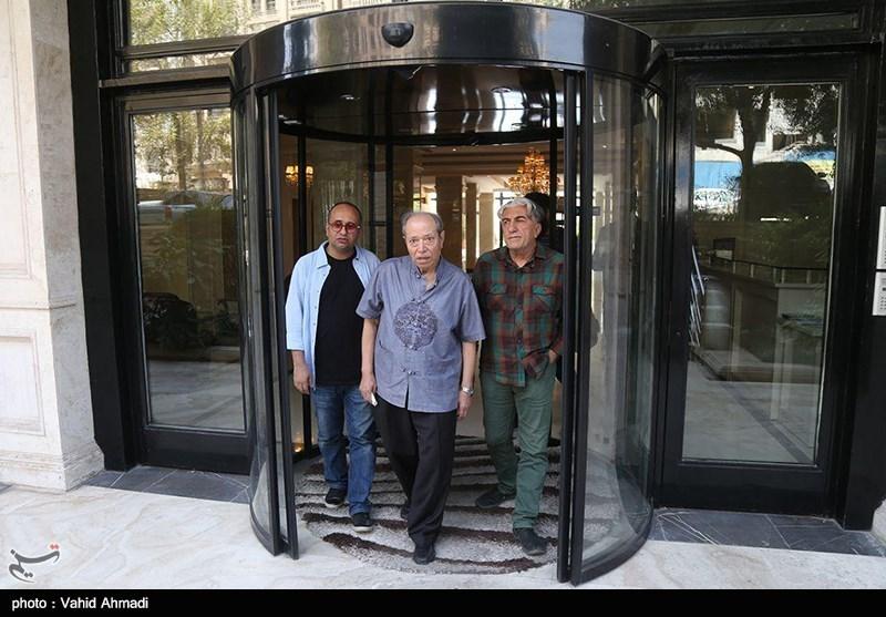 حضور سینماگران در منزل مرحوم عزت الله انتظامی