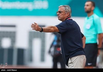 دیدار تیمهای ملی امید ایران و کره شمالی -بازیهای آسیایی 2018