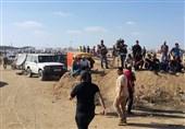 شهیدان فلسطینیان وأکثر من 270 مصاباً برصاص الاحتلال الإسرائیلی فی غزة