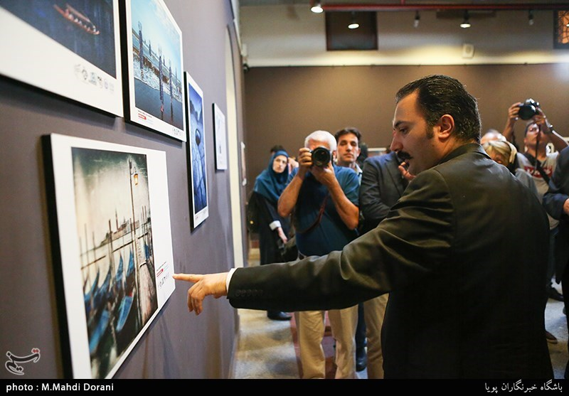 افتتاح نمایشگاه پنجمین جشنواره بینالمللی عکس خیام