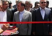 سفر وزیر راه و شهرسازی به سمنان و افتتاح پروژههای راه در قاب تصویر