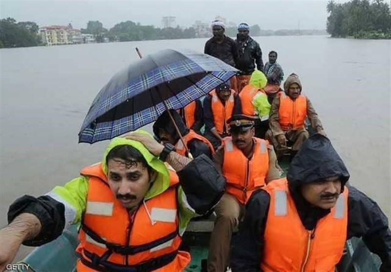 فیضانات الهند.. مأساة حقیقیة