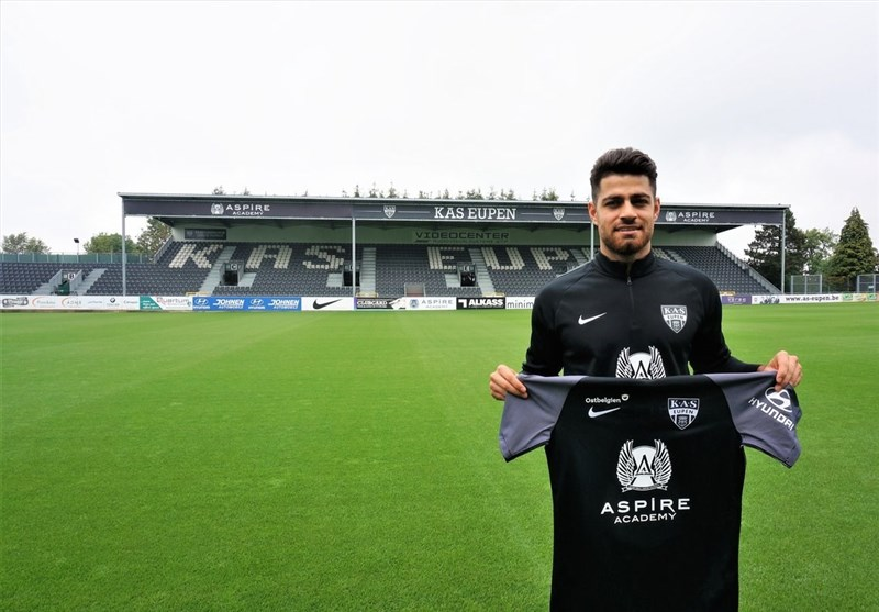Iran's Pouraliganji Joins KAS Eupen