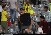 حاشیه دیدار نفت مسجدسلیمان - پدیده| اعتراض هواداران نفت به مرزبان پس از شکست