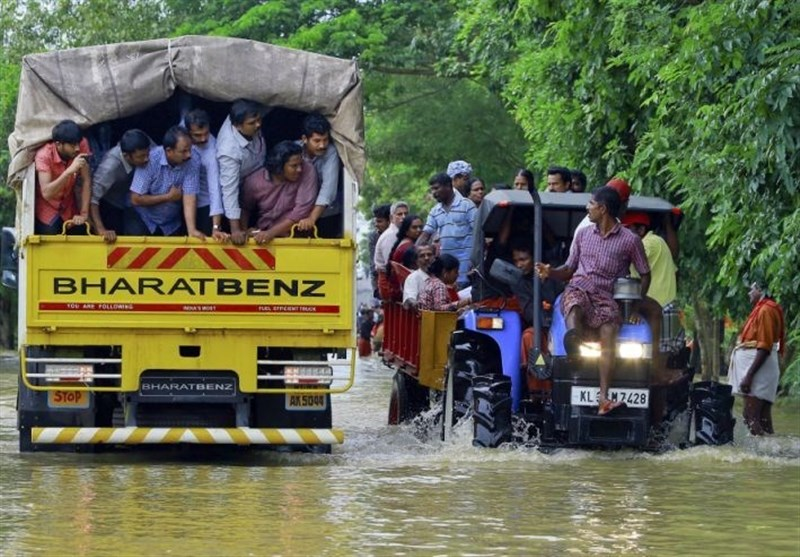 More than A Million People in India Flood Relief Camps
