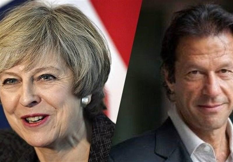 برطانوی وزیر اعظم کی عمران خان کو منصب سنبھالنے پر مبارکباد