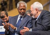 Iran's Zarif Says 'Extremely Saddened' by Kofi Annan's Death