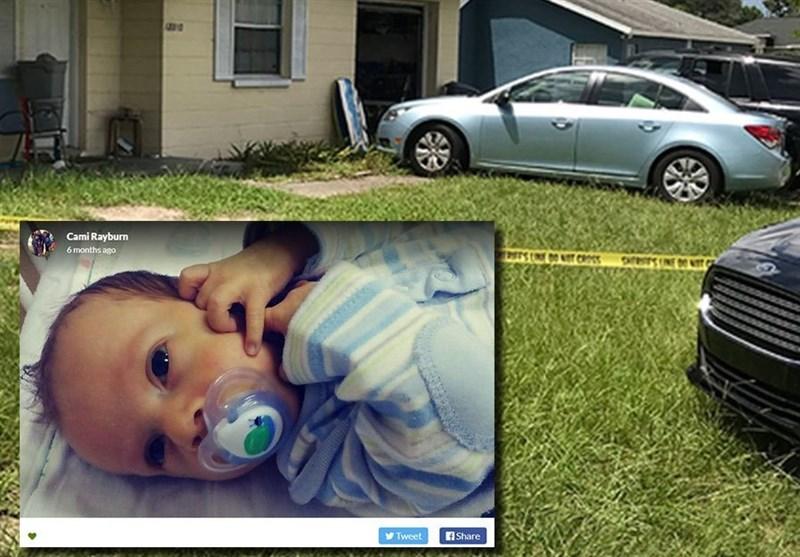 گرمای شدید، جان نوزاد رهاشده در خودرو را گرفت