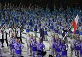 گزارش خبرنگار اعزامی تسنیم از اندونزی| رژه کاروان ایران در مراسم افتتاحیه با پرچمداری الهه احمدی/ مشعل بازیها روشن شد+ تصاویر و فیلم