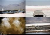 روزهای بحرانی دریاچه نیمه جان ارومیه در واپسین روزهای مرداد97