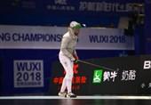 شمشیربازی قهرمانی آسیا| تیم سابر بانوان ایران ششم شد