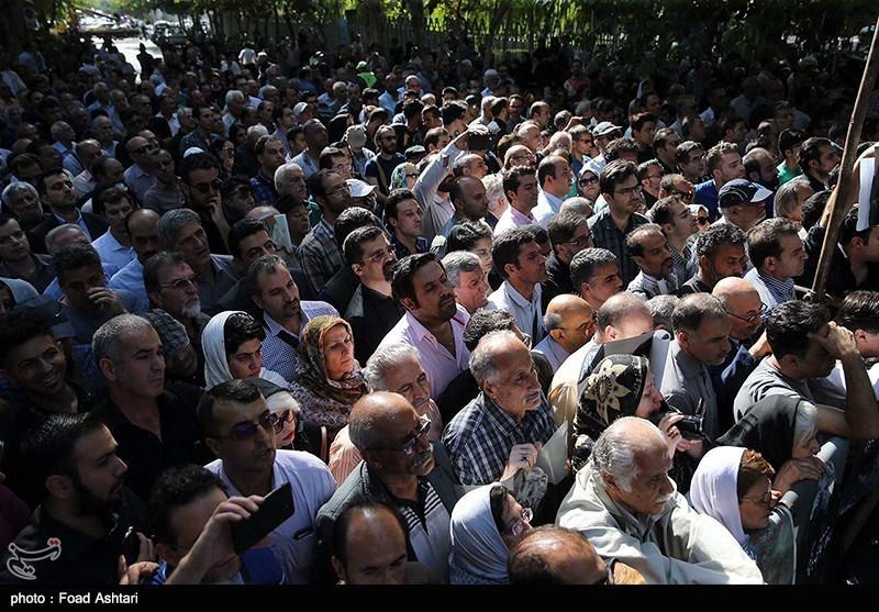 تشییع پیکر عزت الله انتظامی - تالار وحدت