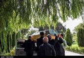 مراسم تشییع پیکر عزت الله انتظامی - تالار وحدت