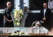 مراسم تشییع پیکر عزتالله انتظامی به روایت تصویر