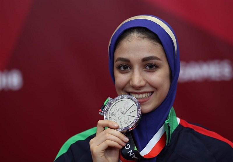 Iran's Marjan Salahshouri Wins Silver at Asian Games