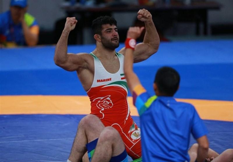 کشتی آزاد قهرمانی جهان|کریمی بر سکوی سومی جهان ایستاد/ پرونده کشتی ایران با ٣ مدال برنز بسته شد