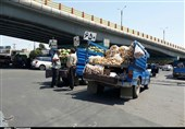 وانتبارهای میوهفروش سطح شهر یاسوج جمعآوری شدند