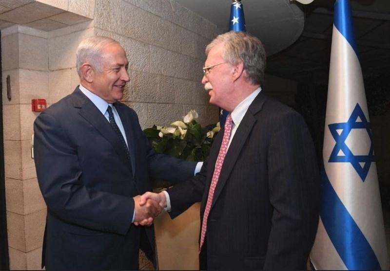 بیانیه مشترک نتانیاهو و بولتون: برای توقف پیشرفتهای موشکی و هستهای ایران گفتگو میکنیم